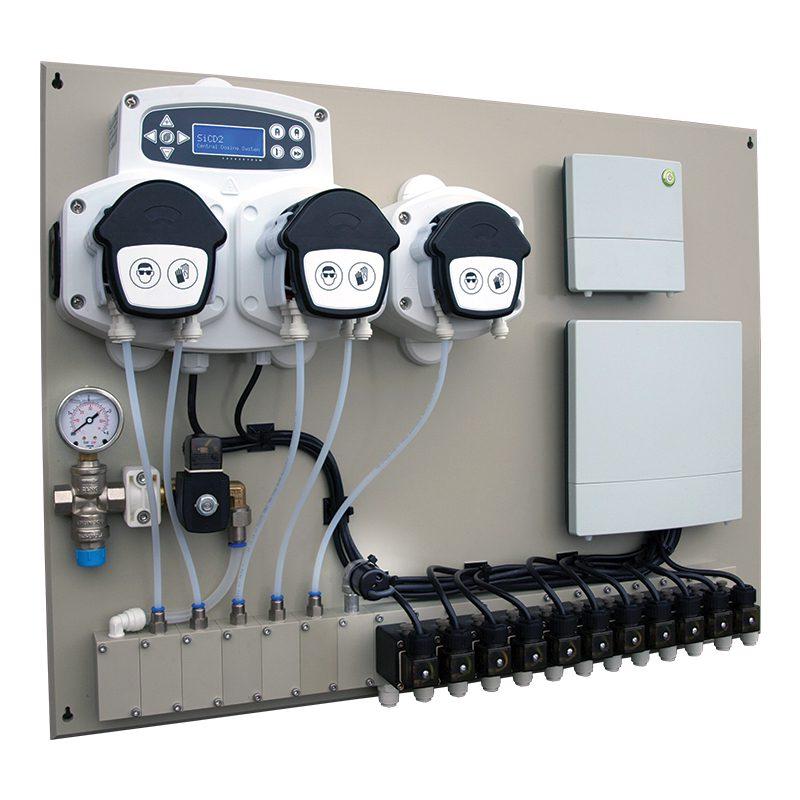 SiCD2 centraldoseringssystem / multianlæg til tøjvask