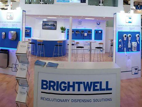 Brightwell dispensere og doseringsanlæg på messe