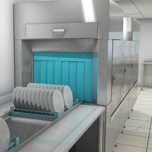 Conveyor opvask