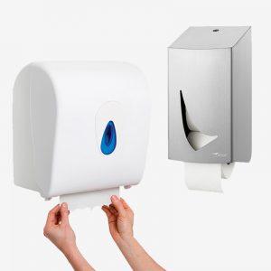 Papir dispensere
